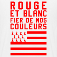 Motif ~ Tee Shirt Rouge et Blanc