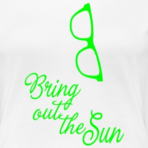 Bring out the Sun glasses, it's spring summer! T-Shirts - Women's Premium T-Shirt