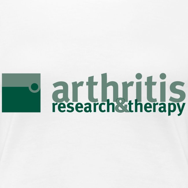 Arthritis Research & Therapy (women's t-shirt)