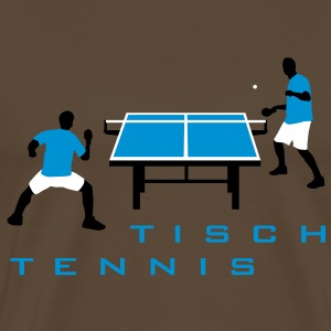 table_tennis_052012_h_3c T-Shirts - Männer Premium T-Shirt