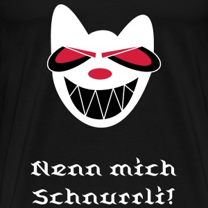 cat_small (Version für schwarz) T-Shirts - Men's Premium T-Shirt