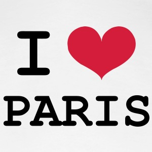 I Love Paris T-Shirts - Frauen Premium T-Shirt