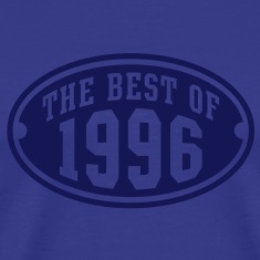 THE BEST OF 1996 - Birthday Anniversary T-Shirt NS