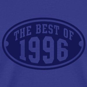THE BEST OF 1996 - Birthday Anniversary T-Shirt NS - Men's Premium T-Shirt