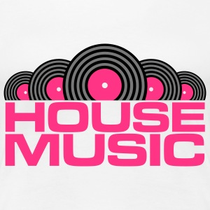 House Music V3 T-Shirts - Frauen Premium T-Shirt
