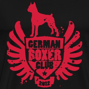 GERMAN BOXER CLUB 2012 T-Shirts - Men's Premium T-Shirt