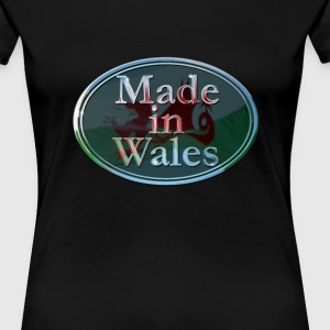 Wales Made in Wales - Women's Premium T-Shirt