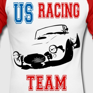 racing team Tee shirts manches longues - T-shirt baseball manches longues Homme