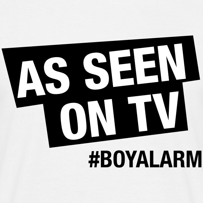 AS SEEN ON TV - T-Shirt (m)
