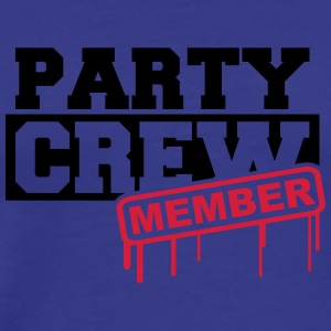 Party Crew Member T-shirts - Mannen Premium T-shirt