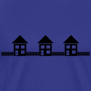 Neighborhood Houses T-shirts - Mannen Premium T-shirt