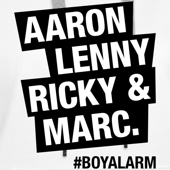 AARON, LENNY, RICKY & MARC - Hoodie (w)