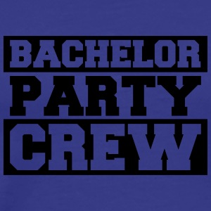 Bachelor Party Crew Design T-Shirts - Men's Premium T-Shirt