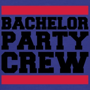 Bachelor Party Crew T-skjorter - Premium T-skjorte for menn