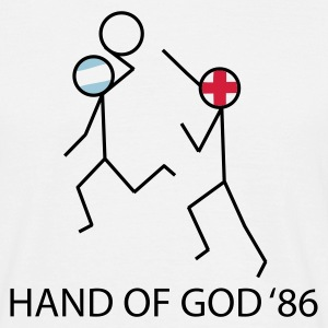Hand of God '86 - Men's T-Shirt
