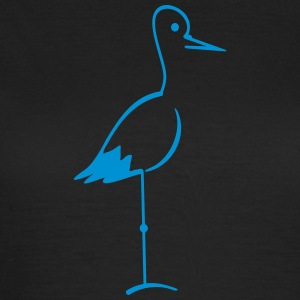 Storch / stork (1c) T-Shirts - Women's T-Shirt