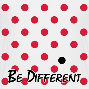 Different Polka Dots Shirts - Kids' Premium T-Shirt