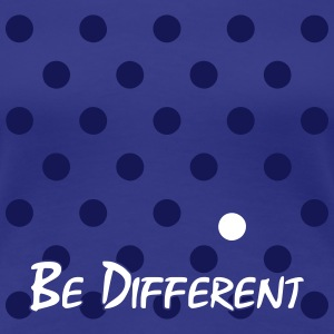 Different Polka Dots T-Shirts - Women's Premium T-Shirt
