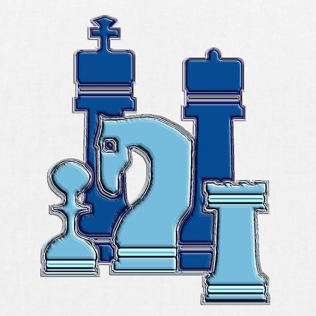 Blaue Figurengruppe