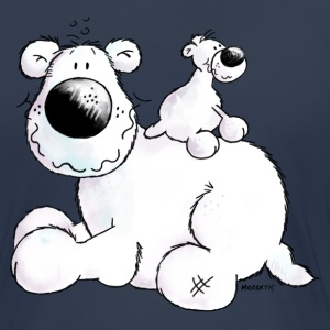 Polar Bear - Teddy- Cartoon T-Shirts - Women's Premium T-Shirt