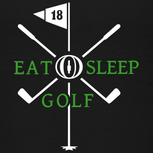 Eat Sleep Golf (2c) Shirts - Kids' Premium T-Shirt