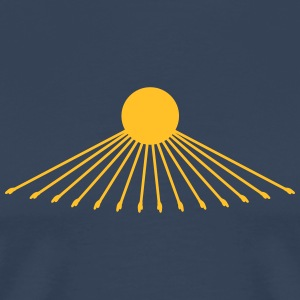 Egypt Sun, God, Re, Aton, Echnaton, T-Shirts - Men's Premium T-Shirt