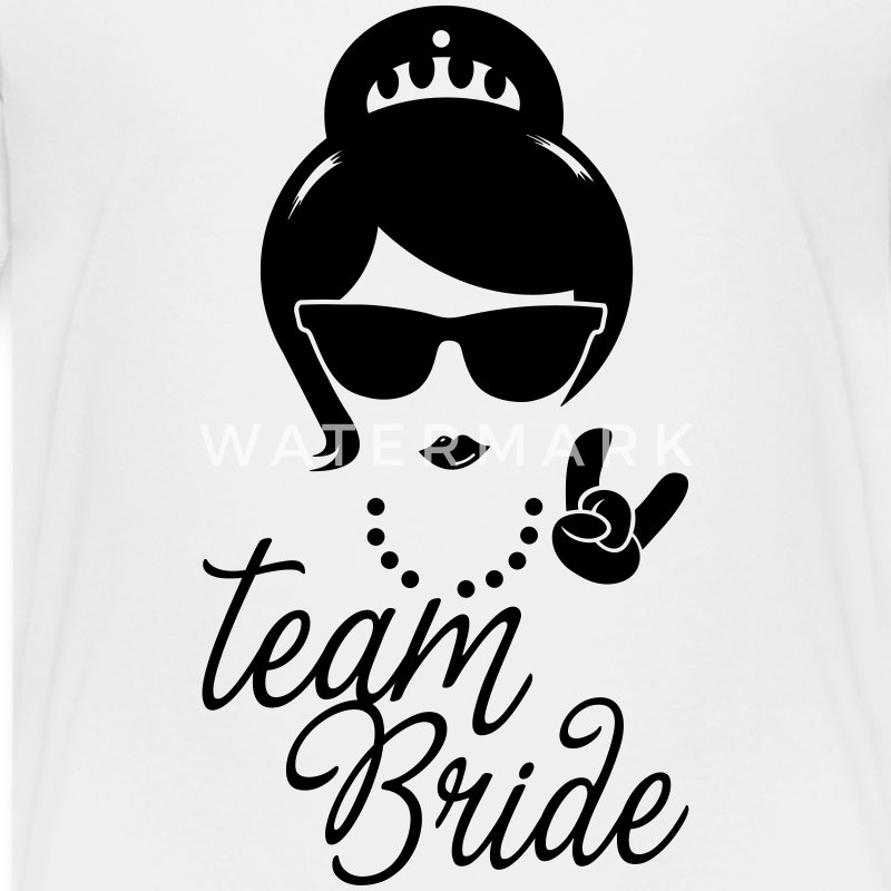 Team Bride Wedding Bridesmaids Stag Hen night do Shirts - Teenage Premium T-Shirt