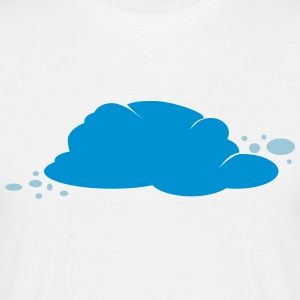 Wolke Cloud Comic Cartoon Graffiti Fleck 2c T-Shirts - Männer T-Shirt
