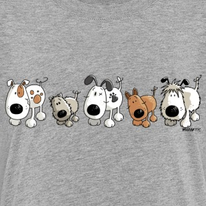 Funny Dogs - Chien - Chiens Tee shirts - T-shirt Premium Ado