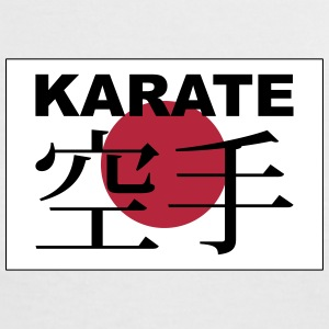 karate T-Shirts - Frauen Kontrast-T-Shirt