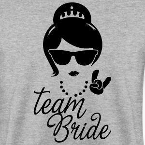 Team Bride Wedding Bridesmaids Stag Hen night do Hoodies & Sweatshirts - Men's Sweatshirt