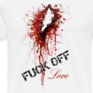 Fuck off Love - Männer Premium T-Shirt