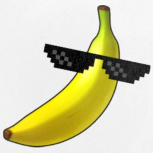 Deal with Banana Badges - Badge petit 25 mm