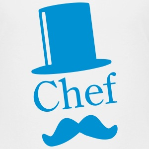 Like a Chef / Like a Sir / Mustache / Moustache 1c Shirts - Teenage Premium T-Shirt