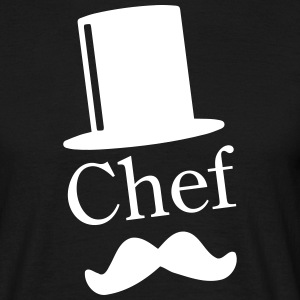 Like a Chef / Like a Sir / Mustache / Moustache 1c T-shirts - Herre-T-shirt