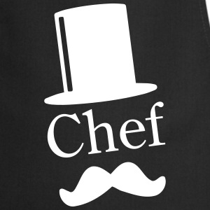 Like a Chef / Like a Sir / Mustache / Moustache 1c  Aprons - Cooking Apron