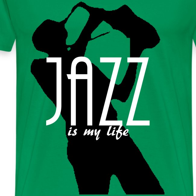 T shirt homme jazz is my life