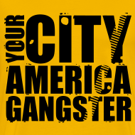 Motif ~ T shirt homme your city america gangster
