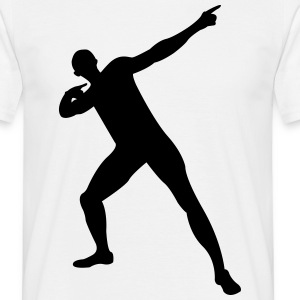 Usain Bolt victory pose T-Shirts - Men's T-Shirt