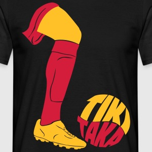 Tiki Taka football  T-Shirts - Men's T-Shirt