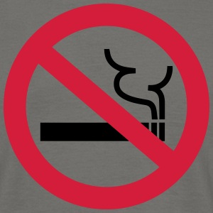 No Smoking T-Shirts - Men's T-Shirt
