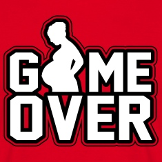 Pregnant - Game Over T-Shirts