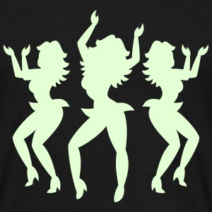 Dancing Girls, T-Shirt - Männer T-Shirt