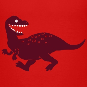 Dino groß - Teenager Premium T-Shirt