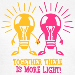 Together there is more light T-shirts - T-shirt dam