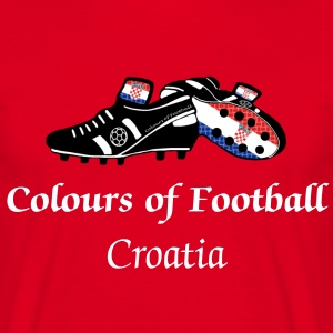 Fooball Colours Croatia - Men's T-Shirt