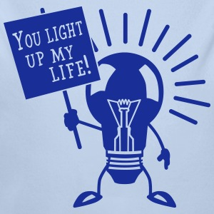 You light up my life Sweats - Body bébé bio manches longues