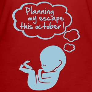 planning my escape this october T-Shirts - Women's Organic T-shirt