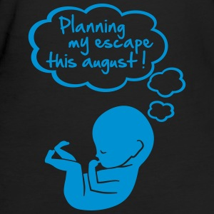 planning my escape this august T-Shirts - Frauen Bio-T-Shirt