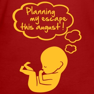 planning my escape this august Tee shirts - T-shirt Bio Femme